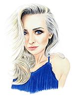 portret kolorowy